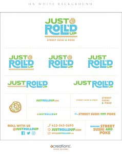 Just Roll'd Up Brand Style Guide Sheet - page 4