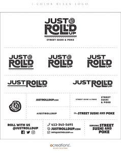Just Roll'd Up Brand Style Guide Sheet - page 5