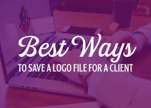 save a logo for a client