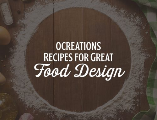 ocreations Recipes for Great Food Design
