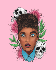 Nina Zivkovic Illustration Janelle Monae
