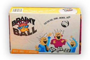 brainy ball packaging design