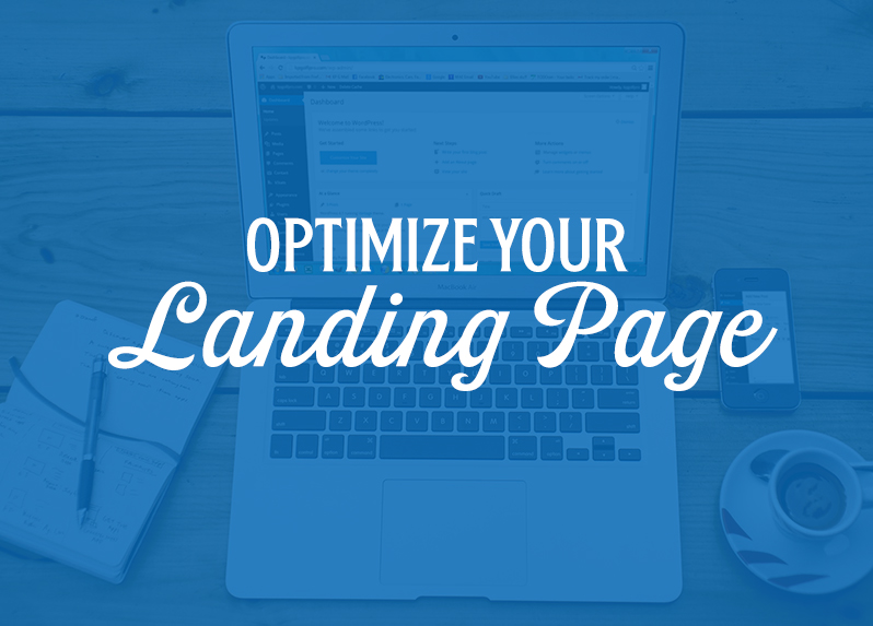 optimize your landing page