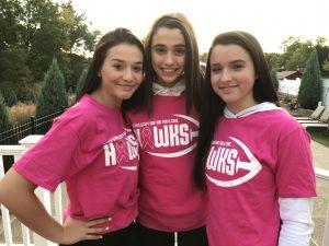 ocreations donates design bethel park hawks breast cancer