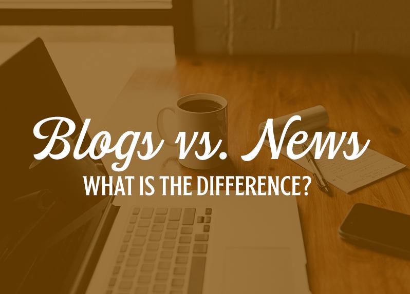 blogs vs. news