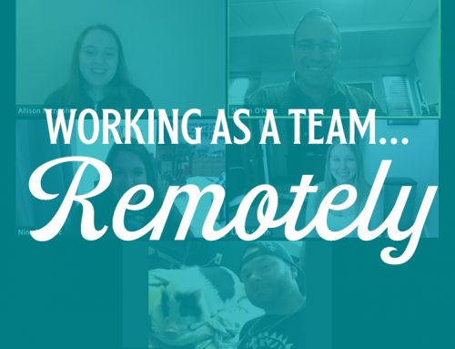WORKING AS A TEAM, REMOTELY