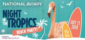 National Aviary Night in the Tropics 2018 Digital Ad