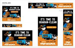 Junk Joeys Quaranclean Digital Ad Campaign