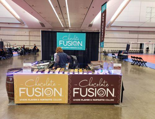 Chocolate Fusion Trade Show Signage