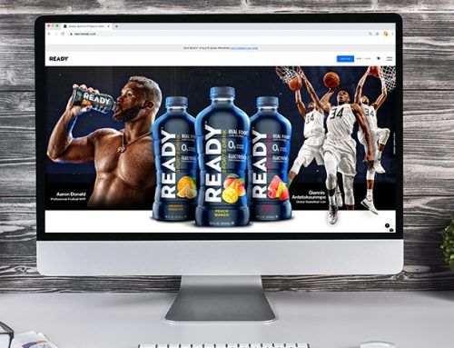 Ready Nutrition Website – Sports Drink Launch